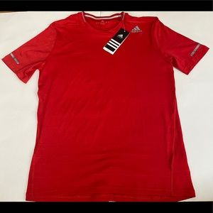 - Adidas Men's  Red Running T-shirt  size S